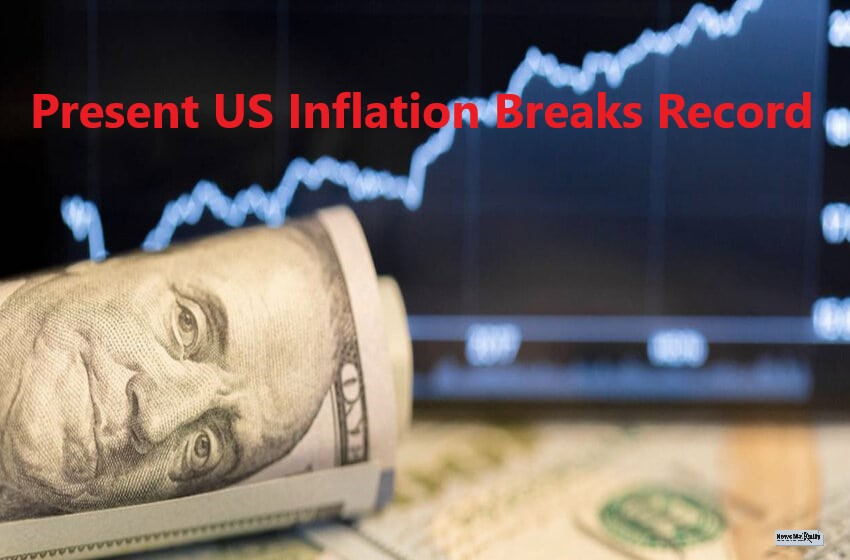 Present US Inflation Hit 13-Years All Time High In June