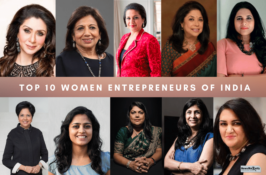 10 Best Indian Women Entrepreneurs And Their Success Stories