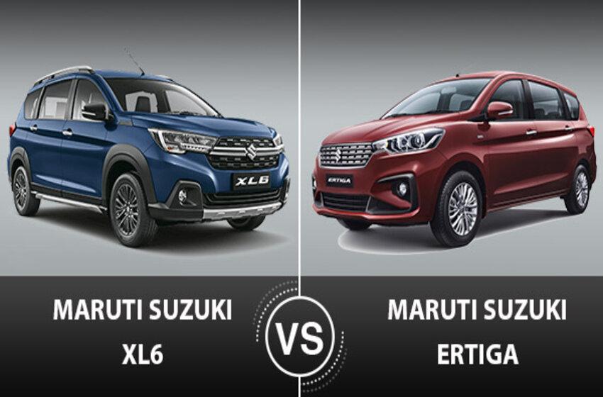 Maruti Ertiga vs Maruti XL6: Which Is The Best Option?