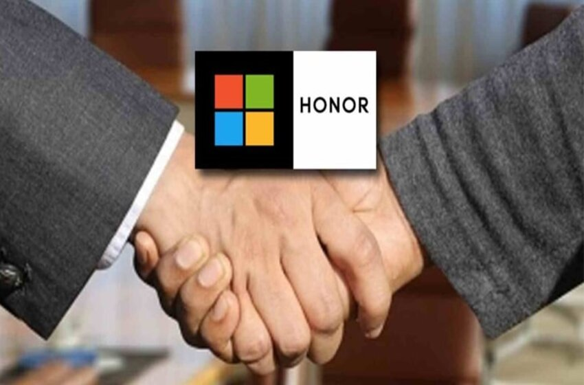 Microsoft Partners With Honor For Introducing First Windows 11 Laptops