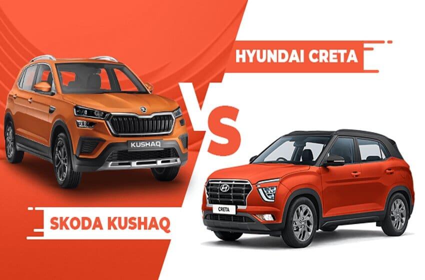Skoda Kushaq Vs Hyundai Creta: Know The Features And Price